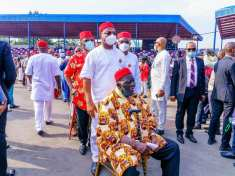 Hope Uzodinma and Ohanaeze Ndigbo president, Obiozor