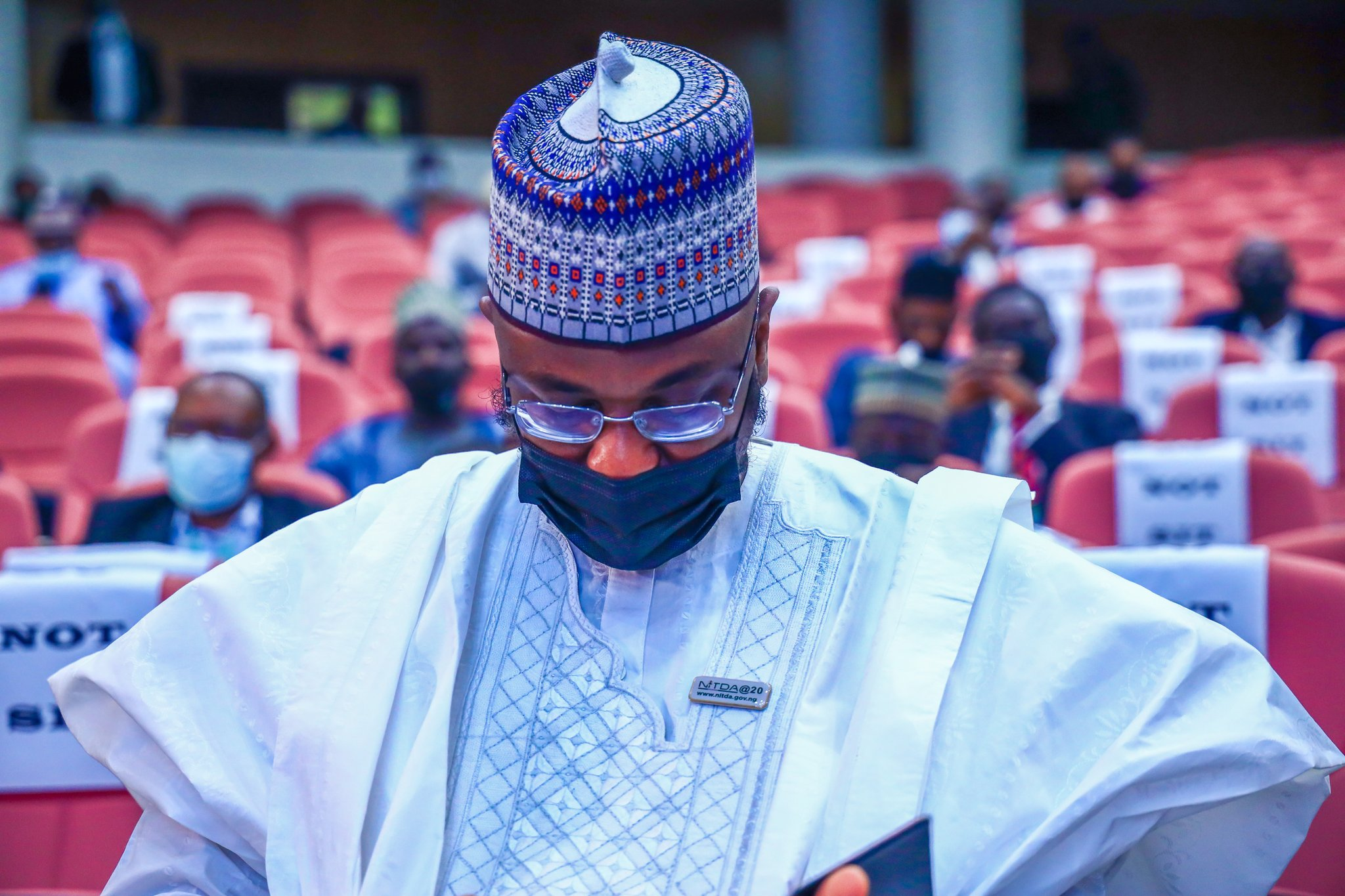 Isa Ali Pantami, Nigeria's Minister of Comms & Digital Economy