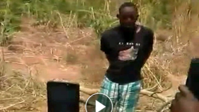Man allegedly robs and kills married woman in Benue after rape attempt, dumps body in well (Photos)