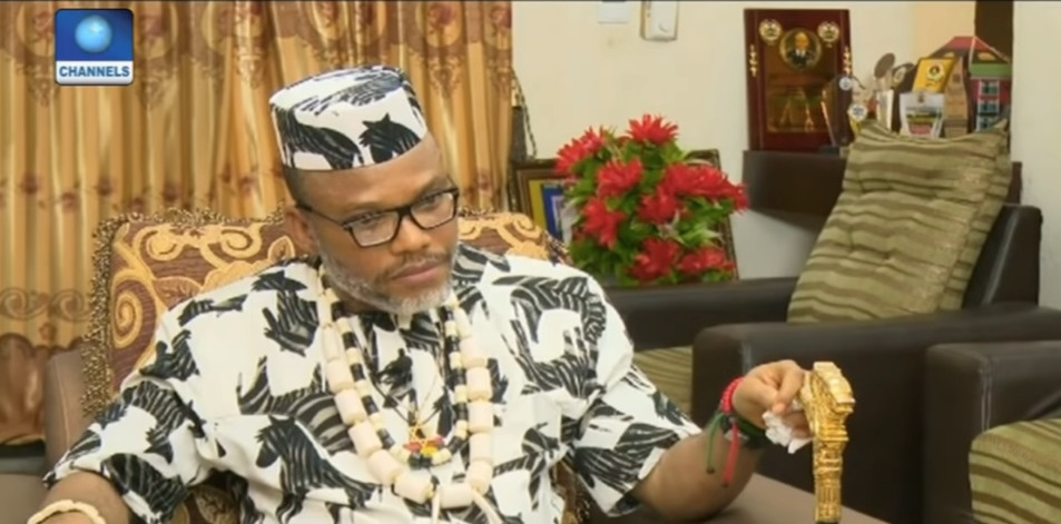 Nnamdi Kanu - IPOB Interview with Channels Television