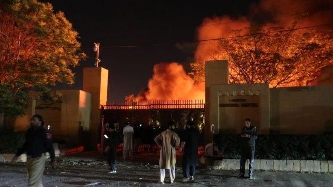 Pakistan hotel bomb- Deadly blast hits luxury venue in Quetta