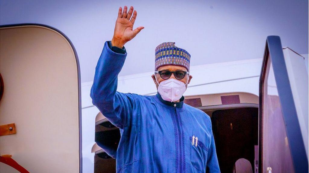 President Buhari Travels To London - 9News Nigeria