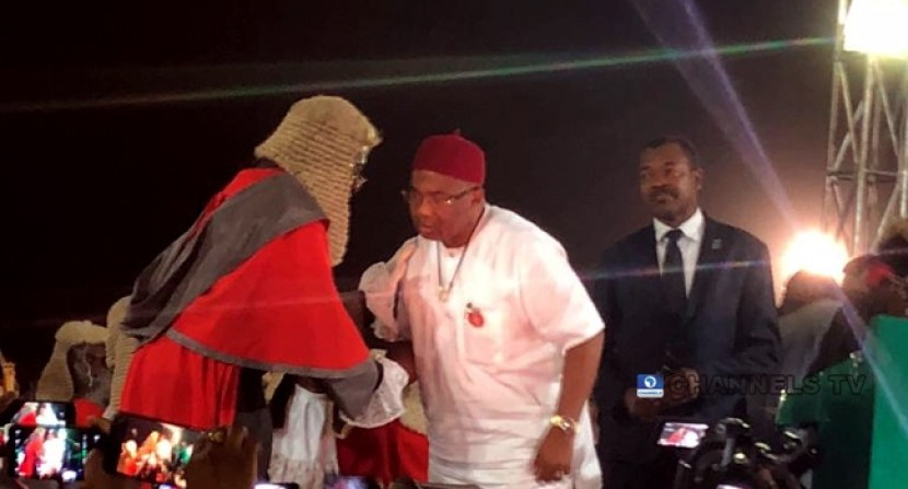 Senator Hope Uzodinma's sworn in as Imo state governor