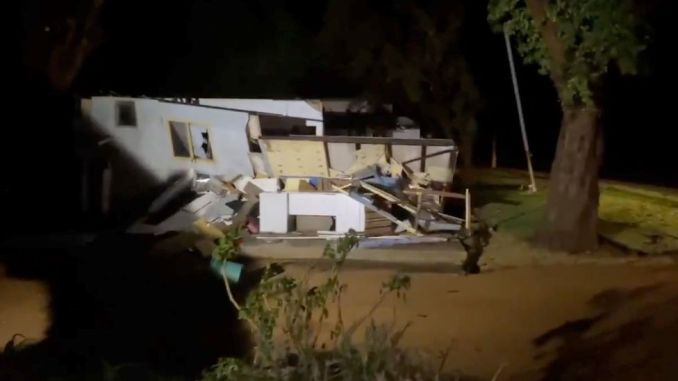 The storm destroyed homes across Western Australia