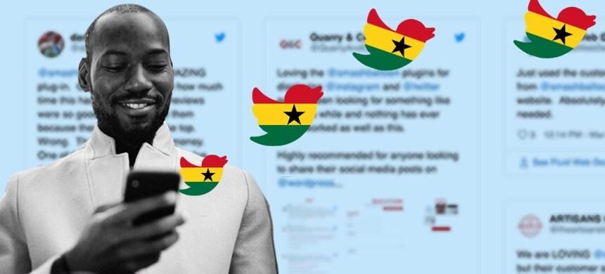 Twitter Opens Office in Ghana