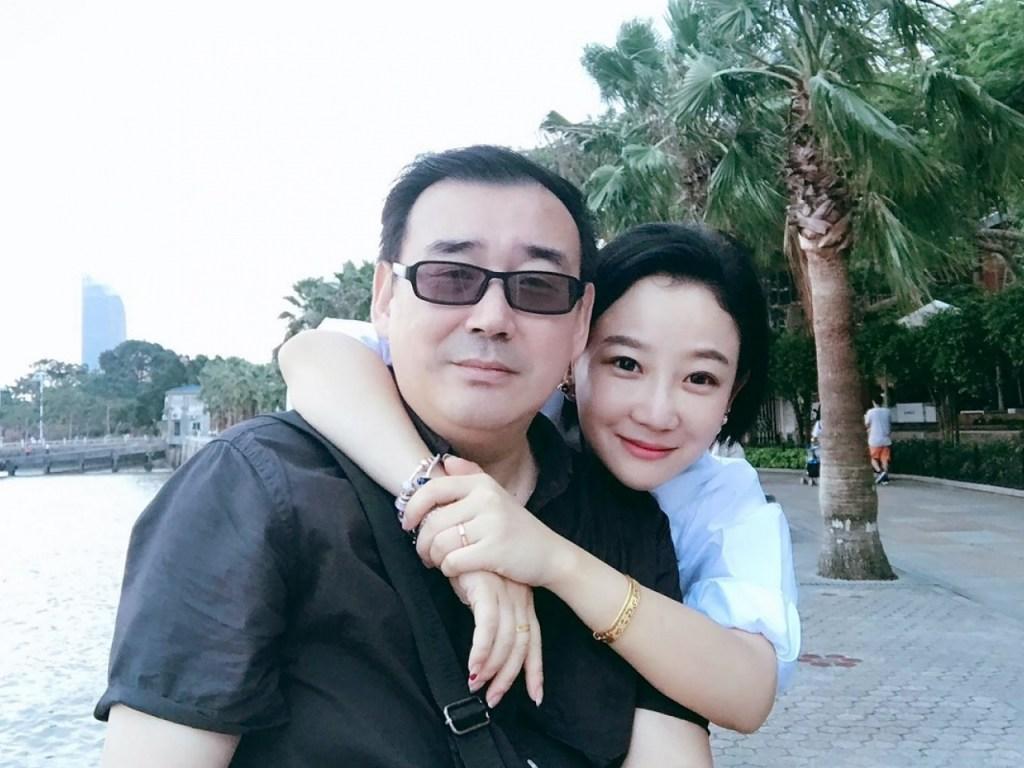 Australian writer, Yang Jun and His Wife