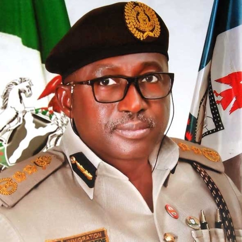 Comptroller General of the Nigeria Immigration Service NIS Muhammad Babandede