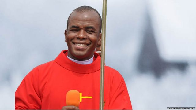 """""""I am safe and free"""" Father Mbaka assures his followers that he is not missing as rumoured"""