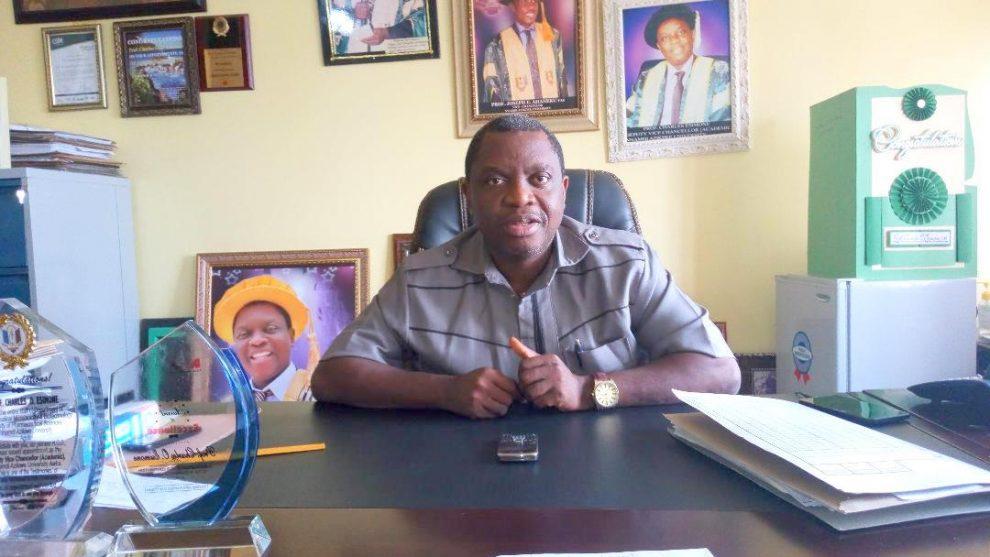 Professor Charles Esimone, Vice Chancellor,Nnamdi Azikiwe University Awka