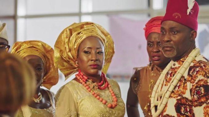 Richard Mofe Damijo dressed in Igbo Traditional Wears