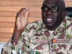 The Slain Chief of Army Staff of the Nigerian Armed Forces, General Attahiru Ibrahim