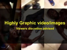 BLOOD IN DUBAI- Many dead as Nigerians in DUBAI-UAE butcher themselves in bloody cultists war (Video)