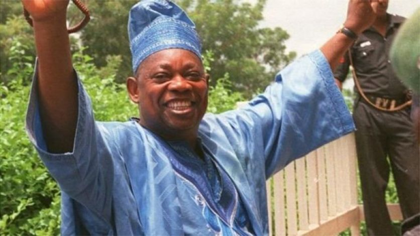 Bashorun MKO Abiola, winner of June 12 1993 Annuled election