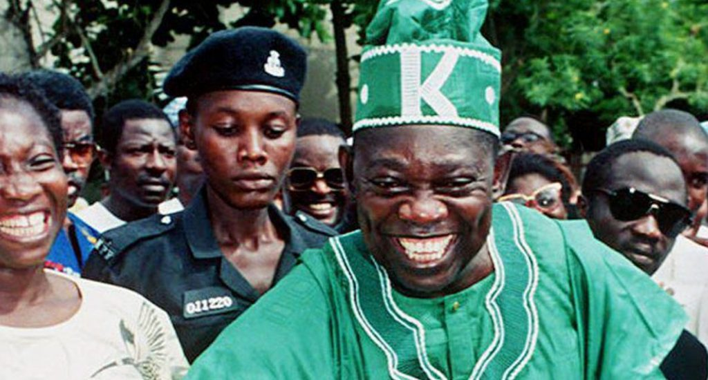 Chief Bashorun MKO Abiola, Winner of Annulled June 12 1993 Election
