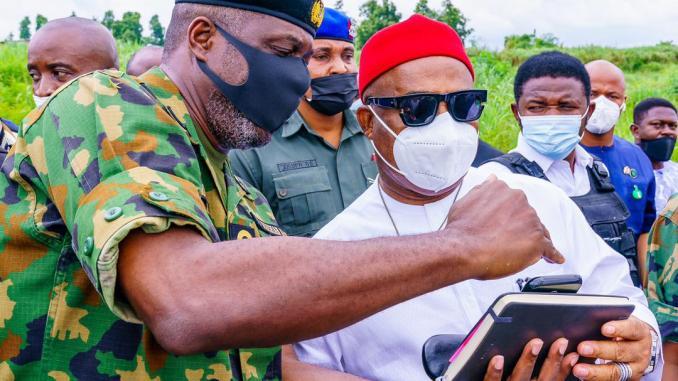 GOVERNOR UZODINMA HASTENS MOVE TO ESTABLISH A NAVAL BASE IN OGUTA, IMO STATE