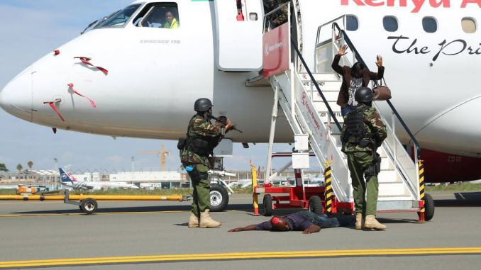 Kenya Airport Authority Security Drill