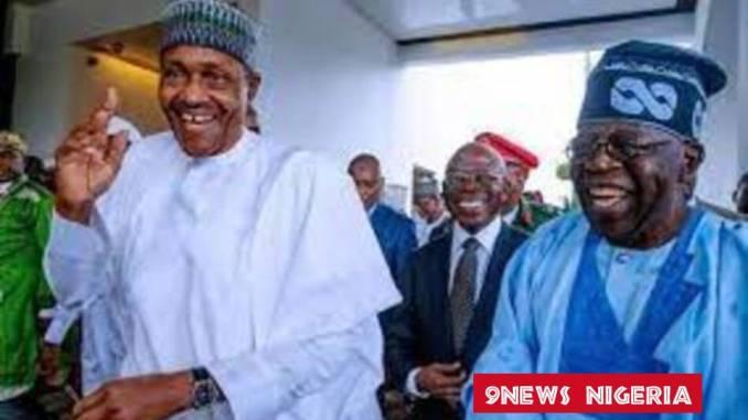 The Nigerian Politicians- President Buhari and Bola Ahmed Tinubu