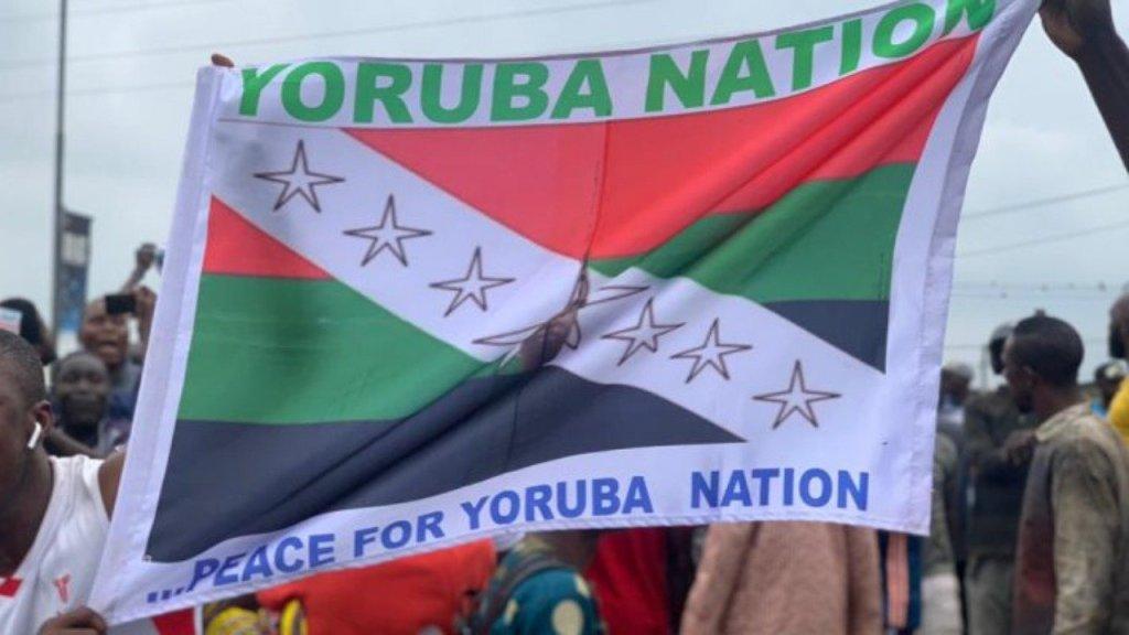 Yoruba Nation protest in Lagos
