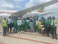 Ethiopian Airlines sends 'best wishes' as Team Nigeria departs Abuja for Olympic Games in Japan