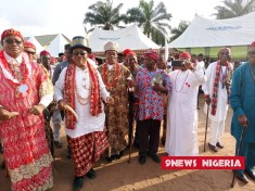 THE MOMENT UMUOMA NEKEDE ATE THEIR NEW YAM - PHOTOS BY 9NEWS NIGERIA, OWERRI