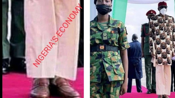 AFTERMATH OF IMO VISIT: CONTROVERSY OVER BUHARI'S STATEMENT AND TROUSER VERSION