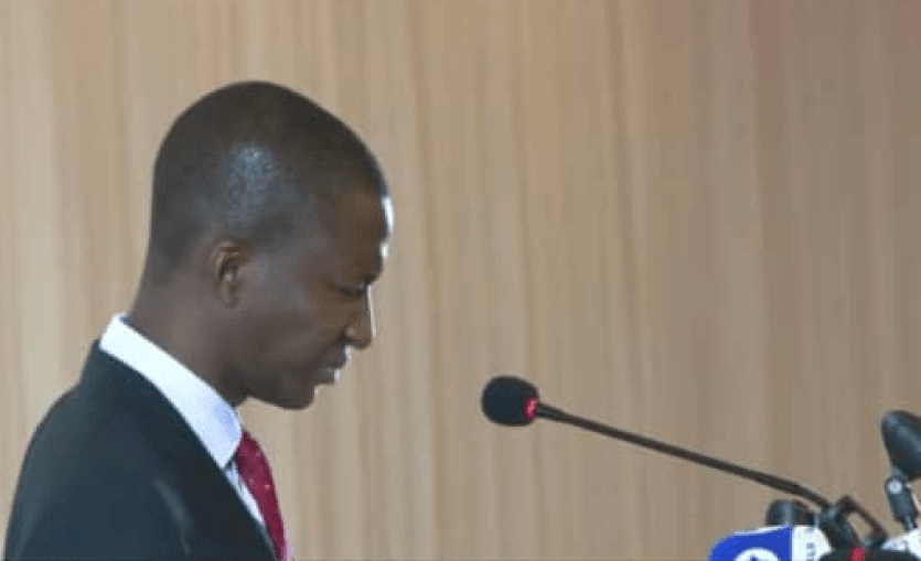 EFCC Chairman slumps