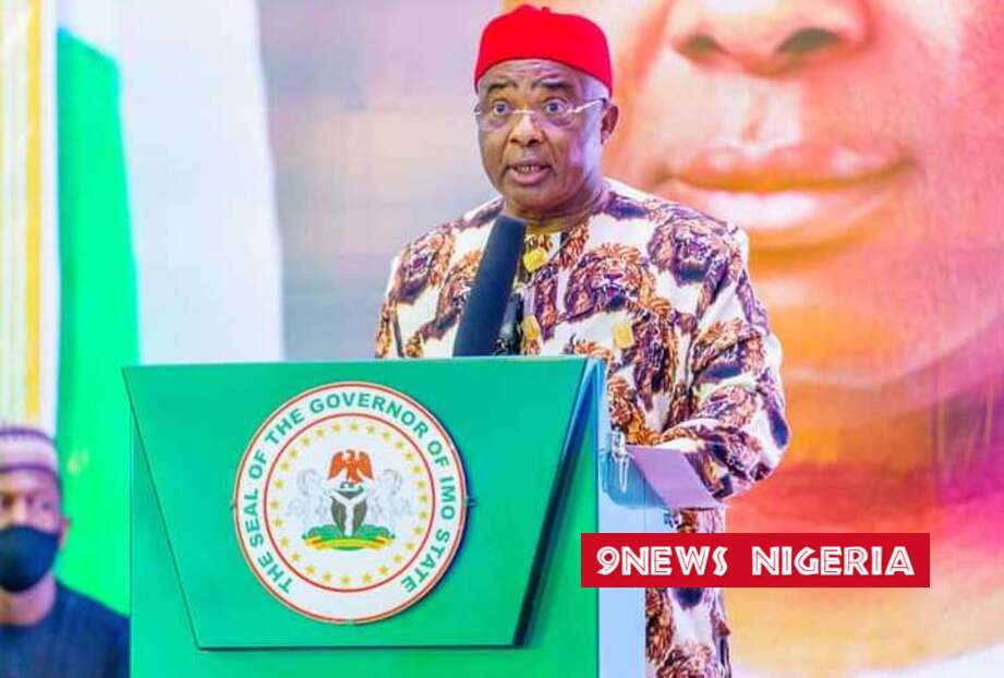 GOVERNOR UZODINMA APPRECIATES IMO PEOPLE AS HE SPEAKS ON THE PRESIDENTIAL WORKING VISIT TO IMO