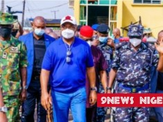Governor Hope Uzodinma visits security facilities in Imo State