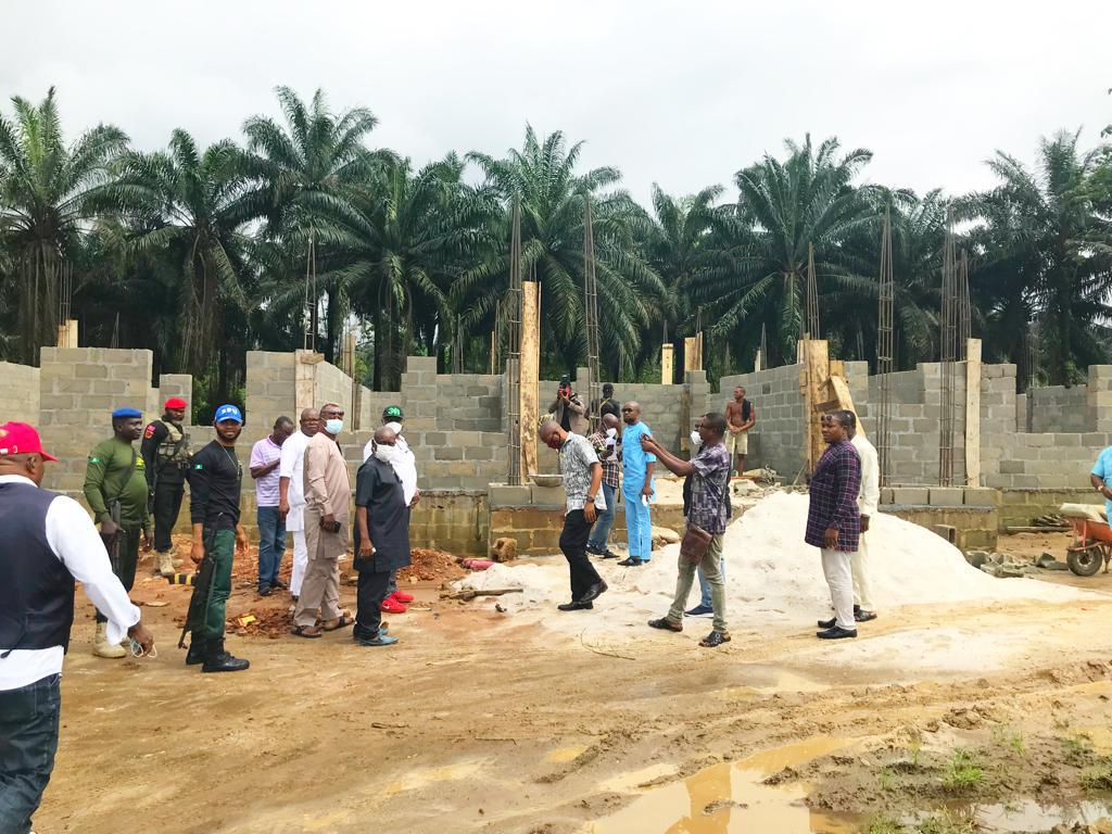 IMO STATE GOVERNMENT RELEASES THE LANDMARK PROJECT OF ISOPADEC GOVERNOR HOPE UZODIMMA
