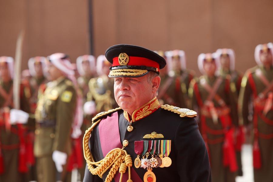 Jordan's King Abdullah II. Image: Jordan Pix/ Getty Images
