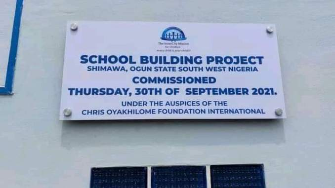 Pastor Chris Oyakhilome sets up a Tuition