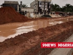 Imo Community Contributes Money To Rehabilitate Road Recently Commissioned By Buhari