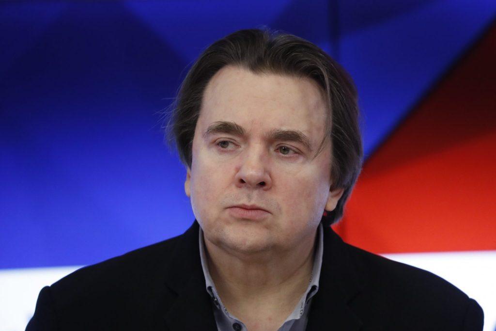 Russian TV boss Konstantin Ernst. Image: Artyom Geodakyan/TASS via Getty Images