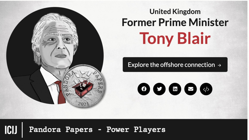 United Kingdom former Prime Minister, Tony Blair