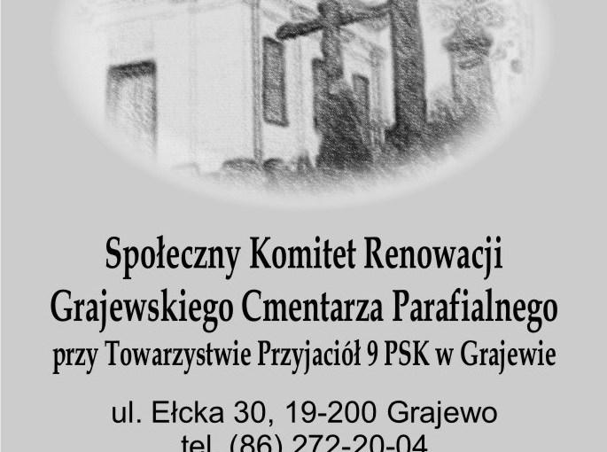29.10-2.11.2011 r. – Kwesta na cmentarzu