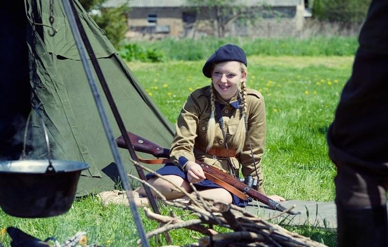 """19.05.2012 r. – """"Piknik z mundurem"""" w Krynkach"""