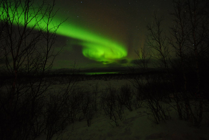 Chances Seeing Northern Lights