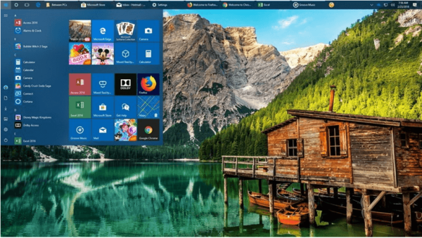 Customize desktop windows 10