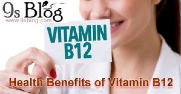Health benefits of Vitamin B12