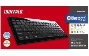 Bluetoothキーボードでスマホが楽【Buffalo BSKBB06wh】