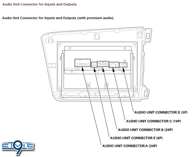 2015 Honda Civic Radio Wiring Diagram : 37 Wiring Diagram