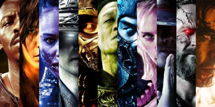 Mortal kombat new psoster reboot films