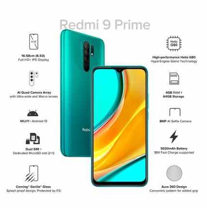 REDMI 9 TOP SELLING PHONE ON AMAZON