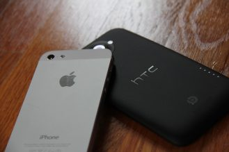 one x+ iphone 5 htc