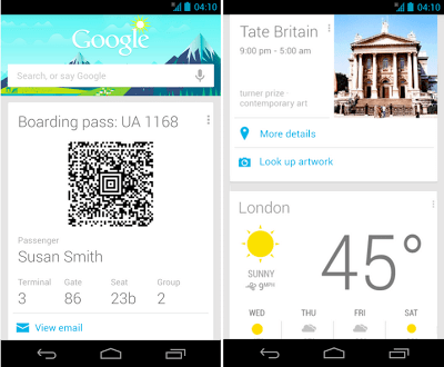 Google Now - Travel Cards Update3