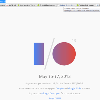 Google I/O Screenie 3