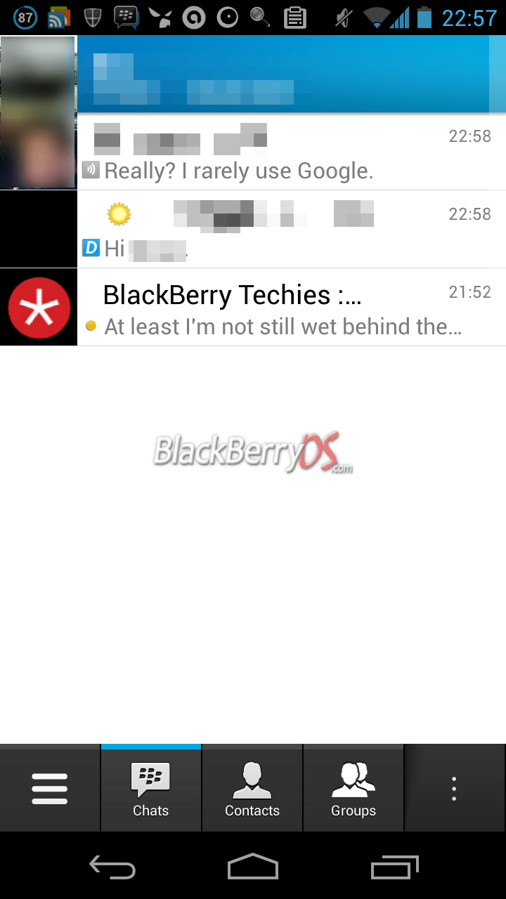 Blackberry Rolling Out Bbm For Ios And Android Beta Invites 9to5google
