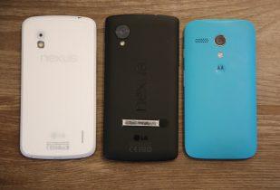 Nexus 4, Moto G, Nexus 5