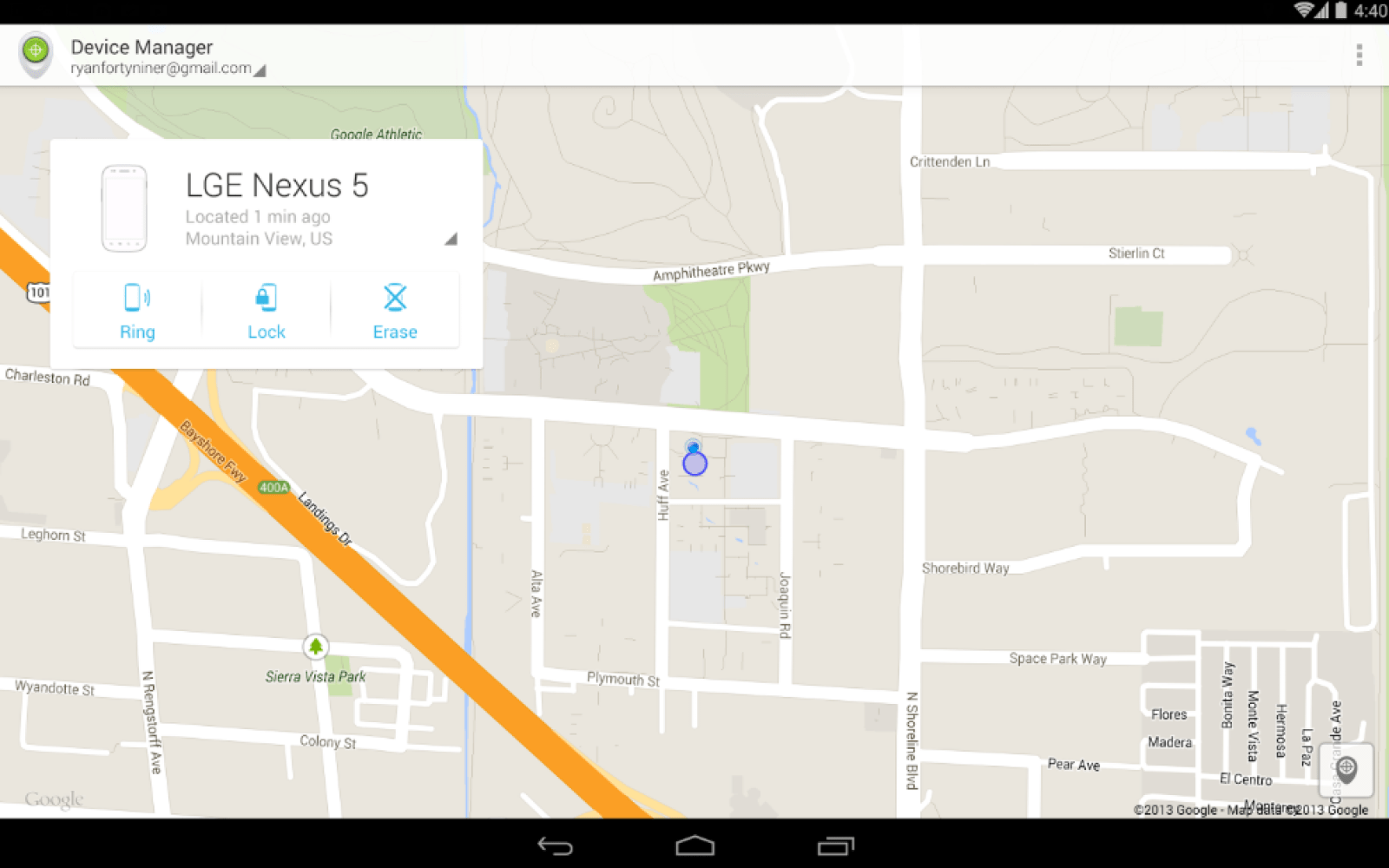 Google Releases Android Device Manager Into Play Store 9to5google