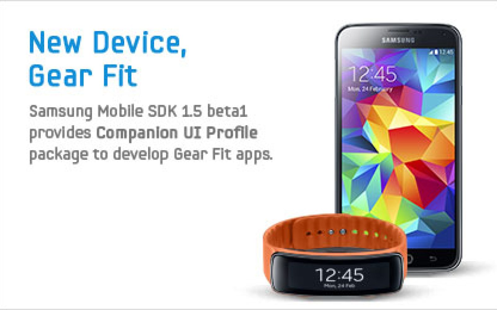 Samsung releases Gear 2, S-Health, & Gear Fit SDKs, opens S5